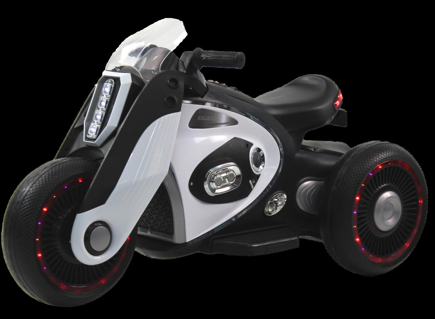 Детский электромобиль (2020) DLS05 (6V) Белый