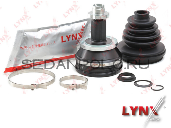 Шрус наружний LYNX МКПП для Volkswagen Polo Sedan