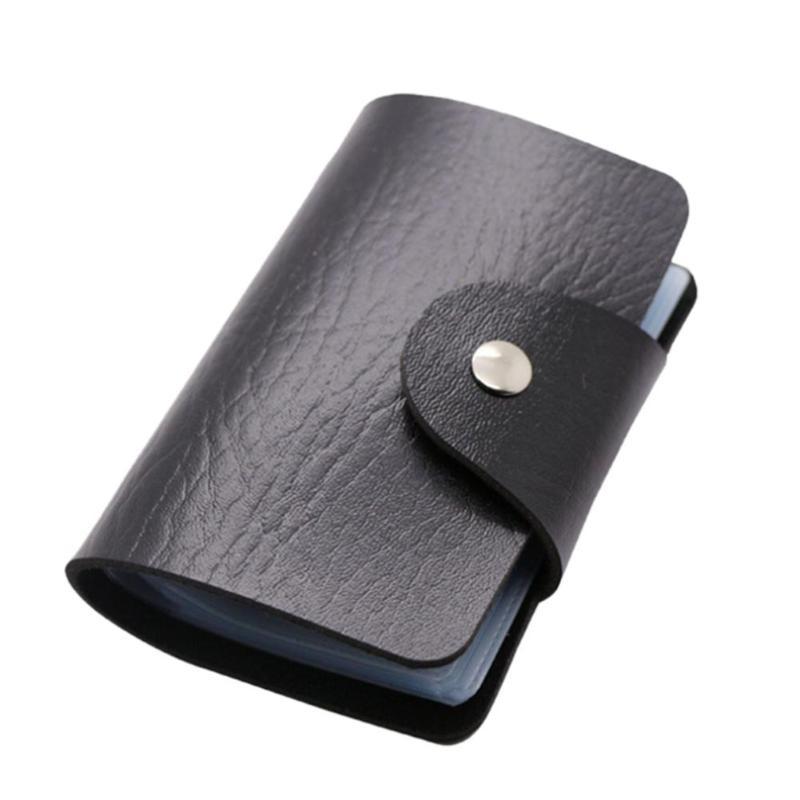 Кредитница-Визитница на 24 карты (цвет черный)
