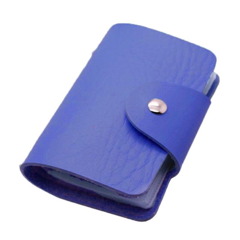 Кредитница-Визитница на 24 карты (цвет синий)