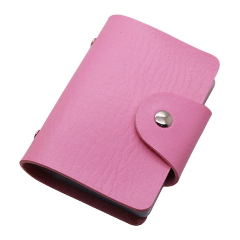 Кредитница-Визитница на 24 карты (цвет светло-розовый)