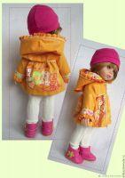 [Кукла Рада] Выкройка и МК курточки для куклы Paola Reina (Елена Кропочева)