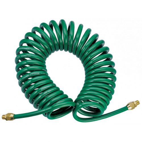 JAZ-7214F Шланг спиральный для пневмоинструмента, 5 мм х 8 мм х 13 м
