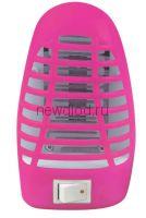 Ночник светодиодный москитный NLM 01-MP розовый с выключателем 230В IN HOME
