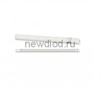Лампа светодиодная LED-T8R-П-PRO 10Вт 230В G13R 4000К 800Лм 600мм прозрачная поворотная IN HOME