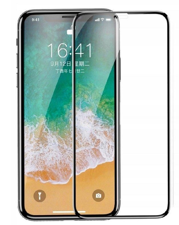 Защитное стекло Baseus Drop-proof Curved Full Screen Film для Apple iPhone X/XS 0.23 mm, Black