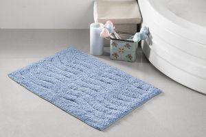 """Коврик для ванной """"MODALIN"""" AREN 40x60 см 1/1 Голубой"""