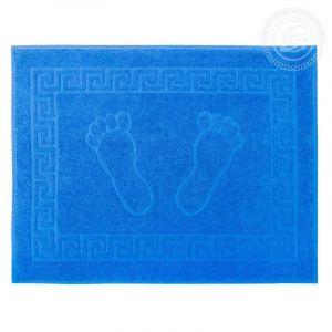 """Махровое полотенце Ножки """"АРТ Дизайн"""" Синий размер 50 х 70"""