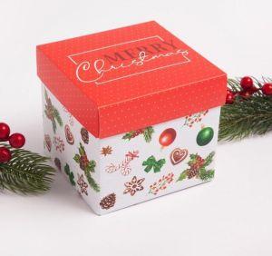 """Набор махровых полотенец """"Collorista"""" Merry Christmas размер Набор из 2 штук"""