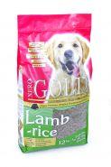 NERO GOLD сухой корм для собак ягненок с рисом,  18 кг