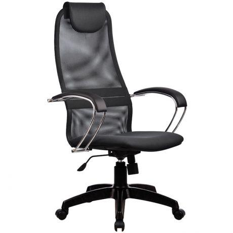 """Кресло руководителя Метта """"Business"""" BK-8 PL, ткань-сетка №20, механизм качания"""