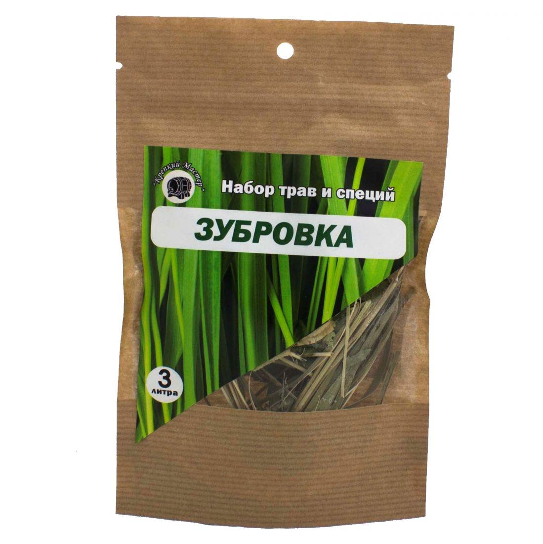 Набор для настойки Зубровка, на 3 литра (КМ)