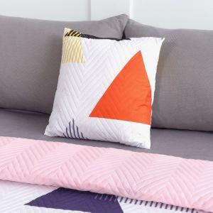 Подушка декоративная Экономь и Я «Треугольник» 40?40 см, 100% полиэстер