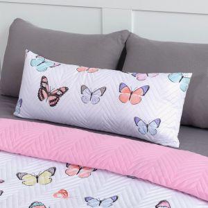 Подушка декоративная Экономь и Я «Бабочки» 30?80 см, 100% полиэстер