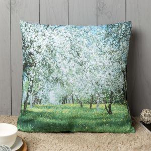 Подушка декоративная «Весенняя аллея», 40х40 см, габардин