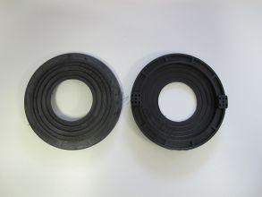 Платформа для светильников черная универсальная 90-115