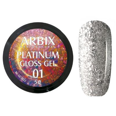 PLATINUM GLOSS GEL ARBIX 01 5 г