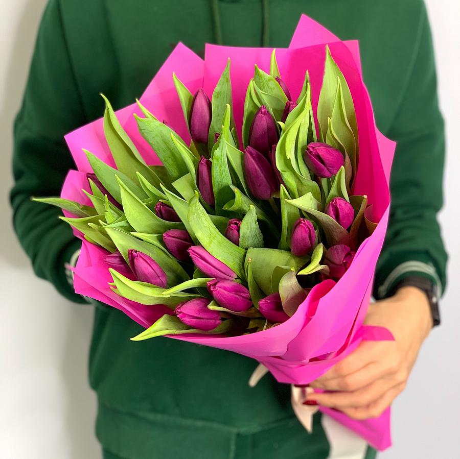 Тюльпаны 25 шт (любой цвет)