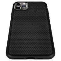 Купить чехол Spigen Liquid Air для iPhone 11 Pro Max черный: купить недорого в Москве — выгодные цены на чехлы для айфон 11 Про Макс в интернет-магазине «Elite-Case.ru»