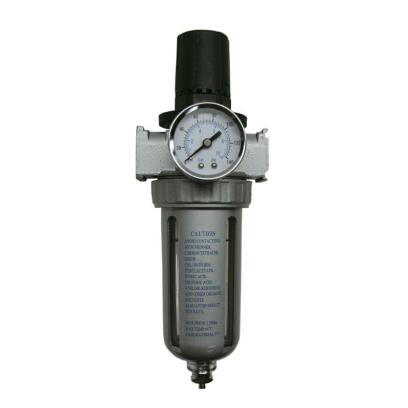 """Jeta JF90 Фильтр влагоотделитель с клапаном слива конденсата для краскораспылителя, 1/4"""""""
