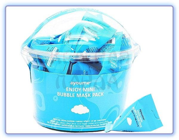 Очищающая пузырьковая маска Ayoume Enjoy Mini Bubble Mask Pack