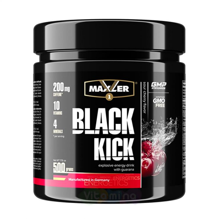 Maxler Энергетик Black Kick, 500 г