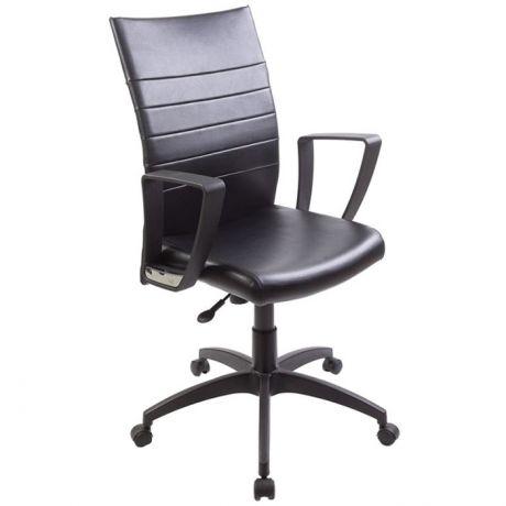 Кресло руководителя Бюрократ CH-400/Black искусственная кожа черная