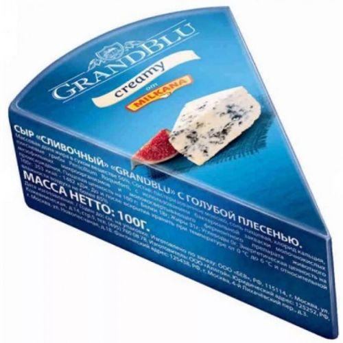 Сыр GrandBlu Creamy с голубой плесенью 56% 100 гр