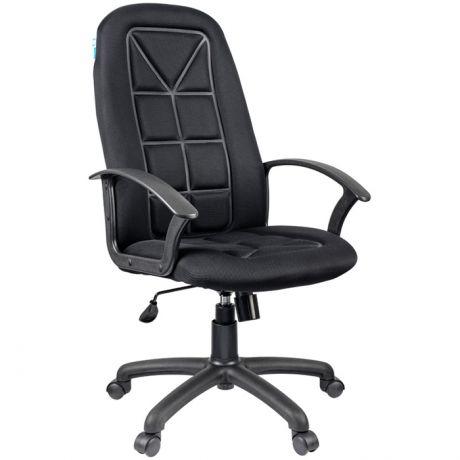 """Кресло руководителя Helmi HL-E89 """"Blocks"""" LT, ткань TW черная"""