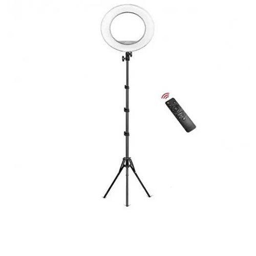 Кольцевая лампа YQ-320A, с пультом (диаметр 30 см),  c напольным штативом 2 метра