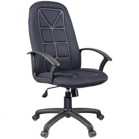 """Кресло руководителя Helmi HL-E89 """"Blocks"""" LT, ткань TW cерая"""