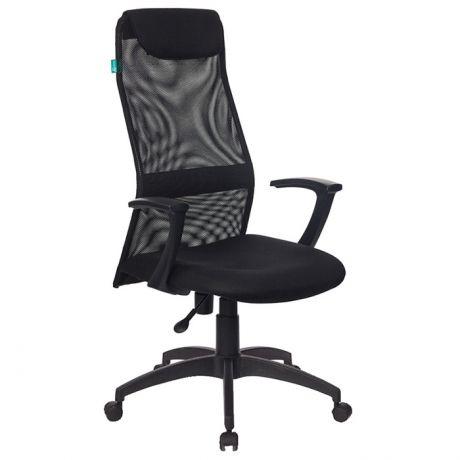 Кресло руководителя Бюрократ KB-8/Black KB-8N/BLACK TW-01 TW-11 сетка черная