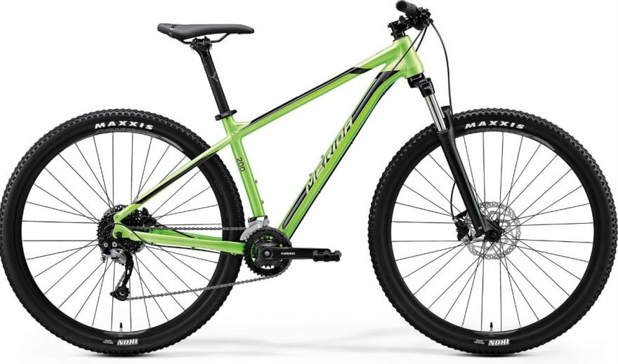 "Велосипед '20 Merida Big.Nine 200 Колесо:29"" Рама:S(14.5"") GlossyGreen/Black (6110834723)"