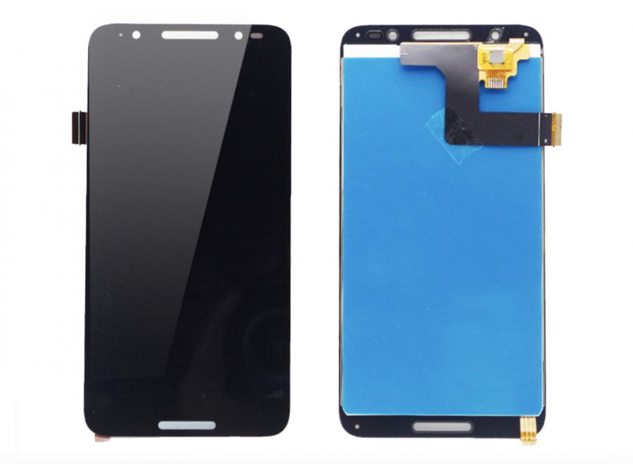 LCD (Дисплей) Alcatel 5011A A3 Plus 3G (в сборе с тачскрином) (black) Оригинал
