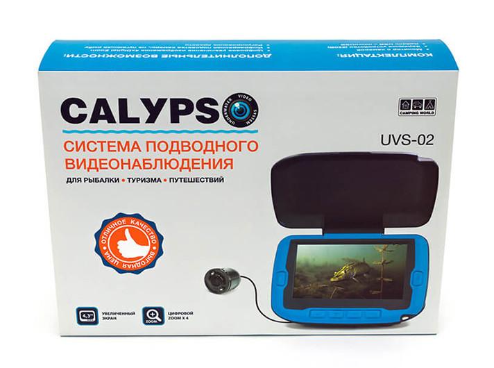 Подводная видео-камера CALYPSO UVS-02 без записи!