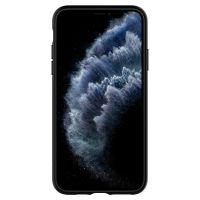 Купить чехол Spigen Ultra Hybrid для iPhone 11 Pro Max черный прозрачный чехол для Айфон 11 Про Макс в Москве в интернет магазине аксессуаров для смартфонов elite-case.ru