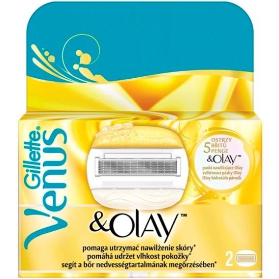 Gillette Venus and Olay сменные кассеты (2 шт)