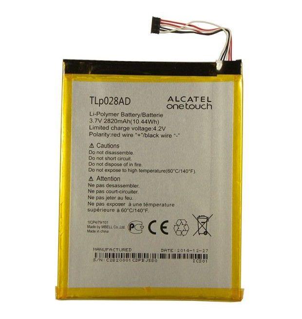 Аккумулятор Alcatel I216X Pixi 7 3G (TLp028AD) Оригинал