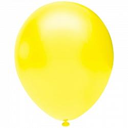 """Жёлтый, пастель, 12"""", 50 шт (Турция, Орбиталь)"""
