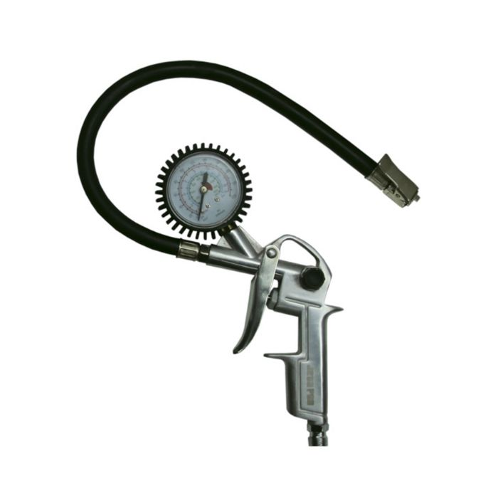 Jeta PRO JTG3 Пистолет для накачки шин с манометром и шлангом 40см., максимальное давление 12бар