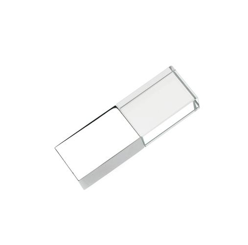 64GB USB-флэш накопитель Apexto UG-001 стеклянный, белый LED USB 3.0