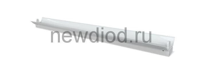 Светильник под светодиодную лампу SPO-101-1R 1хLED-T8-1200 G13 230В IP40 1200 мм с рефлектором IN HO