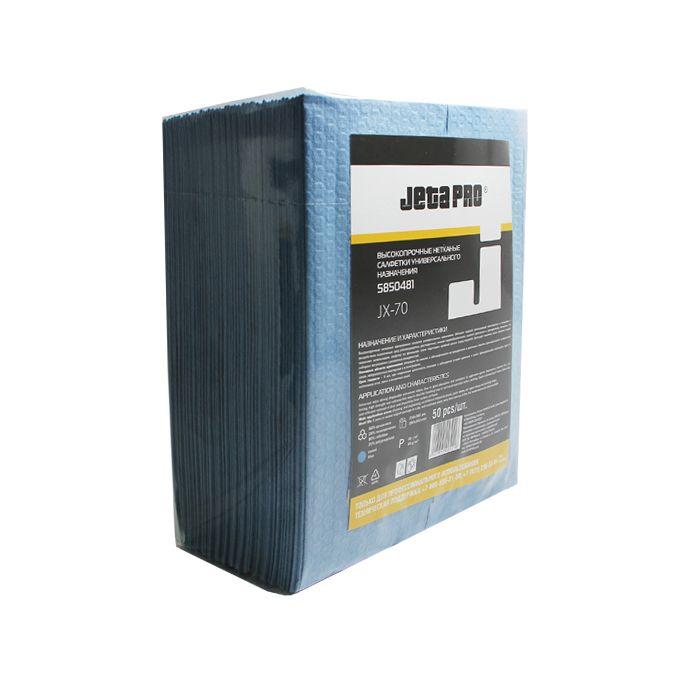 JETA JX-70 Нетканые салфетки для обезжиривания, целлюлоза/полипропилен, устойчивы к растворителям, 68г/м2, 29см. x 36см., в пакете 50шт.