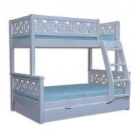 Кровать двухъярусная Ла Мер 2 с ящиками
