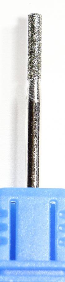 Бор фреза цилиндр 2,3 мм (4068) синий