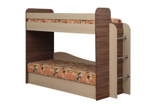 Кровать двухъярусная Адель-4 с матрасом