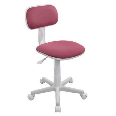 Кресло детское Бюрократ CH-W201NX/26-13, розовый, без подлокотников