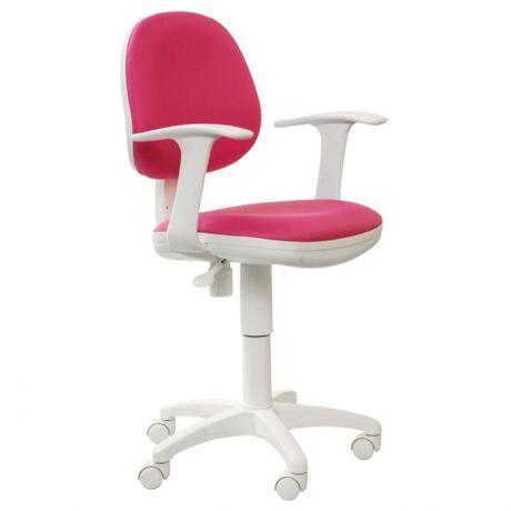 Кресло детское Бюрократ CH-W356AXSN, пластик белый