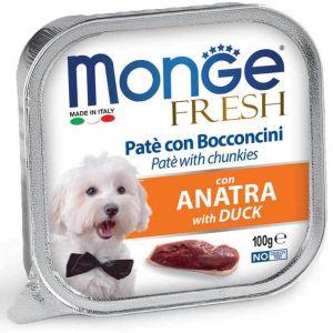 Monge Dog Fresh консервы для собак утка 100 гр.