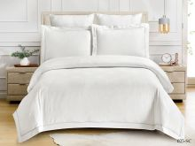 Постельное белье Soft cotton Лен- жаккард 2-спальный Арт.21/025-SC